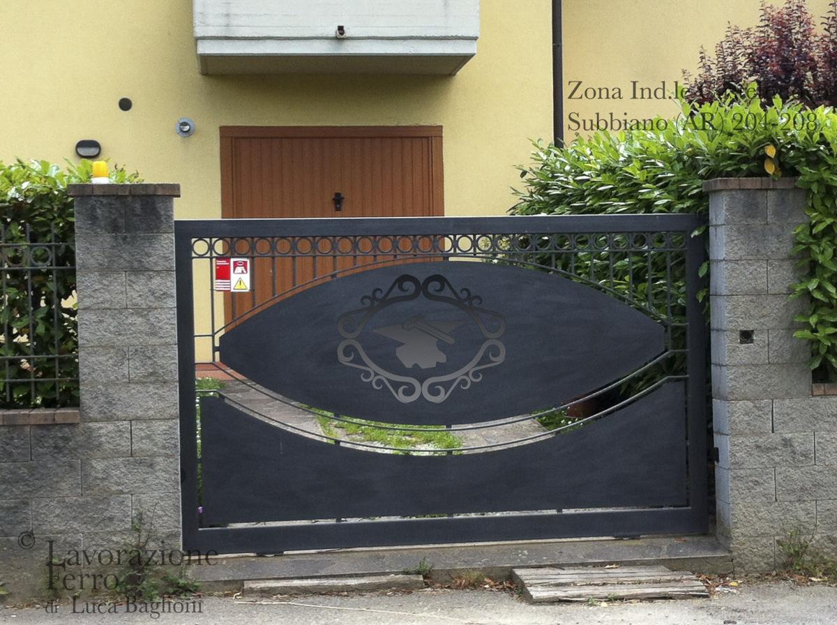 Populaire Cancelli Scorrevoli - LAVORAZIONE FERRO OP89